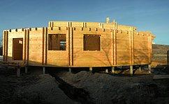 Утепление дома из двойного бруса Н.Новгород